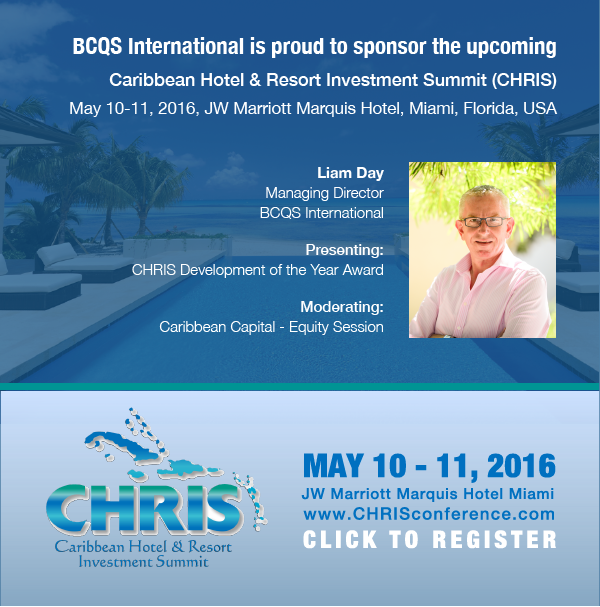 BCQS Quantity Surveyors at CHRIS 2016